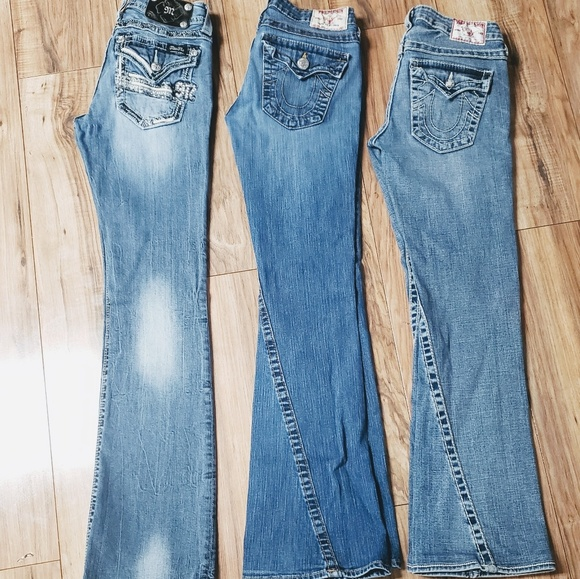 True Religion Denim - Bundle of Womans Size 27 True Religions and MissMe